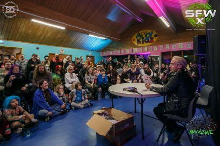 john robertson book launch