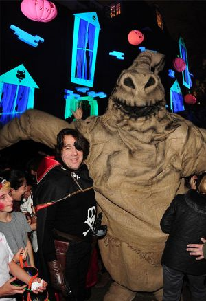 Jonathan Ross And Oogie Boogie