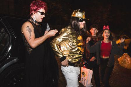 Jonathan Ross Halloween Costume