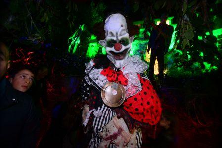 Killer Klown Jonathan Ross Halloween Party