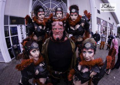 Leather Girls Devil