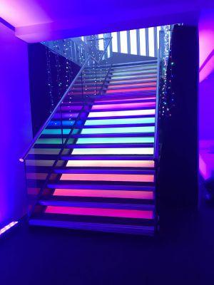 Led Staircase Decor