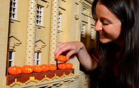 Lego Mini Pumpkins