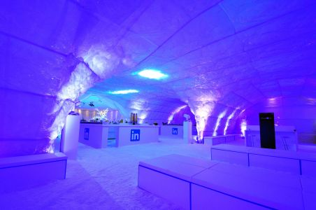 Linkedin Ice Cave