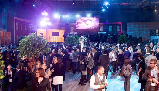 London Conference Evening Decor