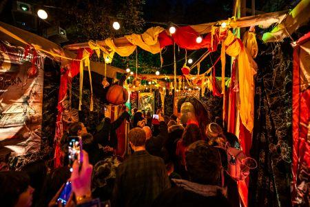 london halloween party jonathan ross