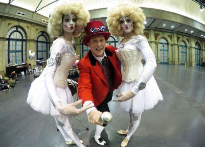 magic circus themed