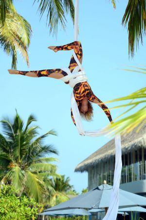 Maldives Aerial Silks