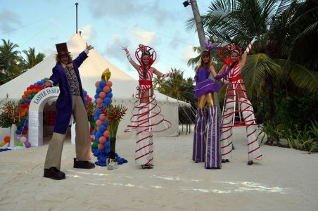 Maldives Easter Show Willy Wonka