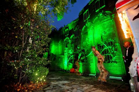 Mansion Jonathan Ross Halloween Makeover