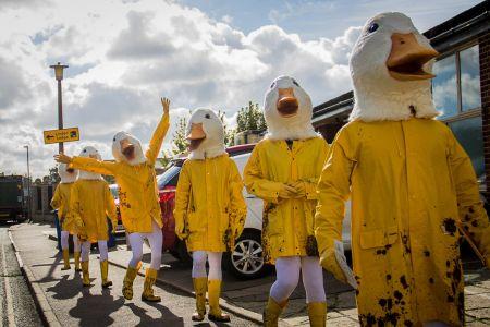 Marching Ducks Pr Campaign