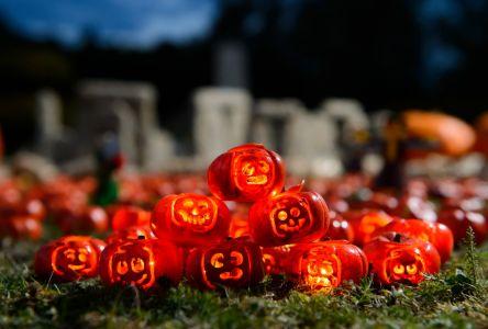 Miniature Halloween Props