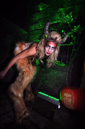 Monster Halloween Party Jonathan Ross