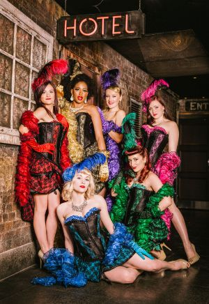 moulin rouge burlesque act