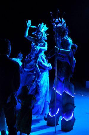 Neptune And Mermaid