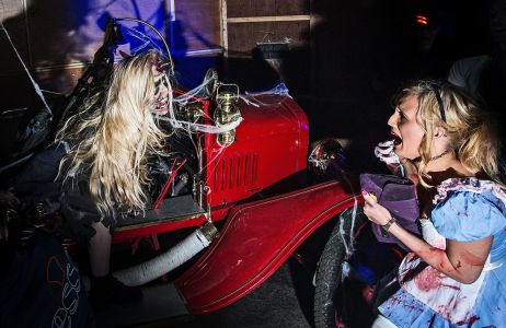 Nottingham Terrified Halloween Clubber
