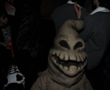 Oogie Boogie Man Jonathan Ross Party