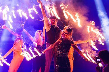 peaky blinders fire show