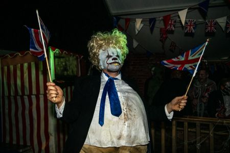 prime minister boris johnson halloween