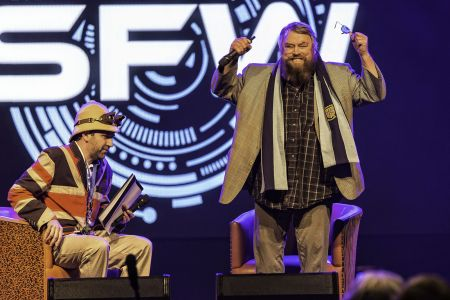 Professor Elemental And Brian Blessed