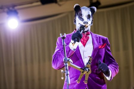 prosthetic animal costume