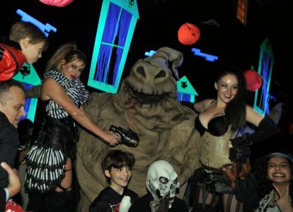 Public Performers Oogie Boogie Man Jonathan Ross Party