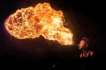 Scifi Weekender Fire Breather
