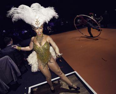 showgirl dancer