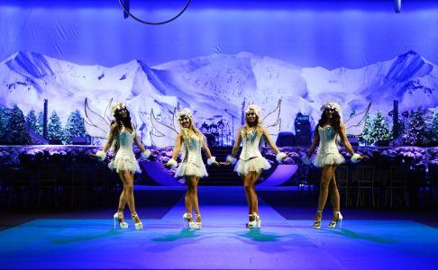 Snow Themed Dancers