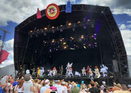 stage camp bestival HENGE