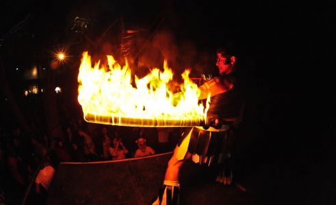 Stage Fire Act Donington
