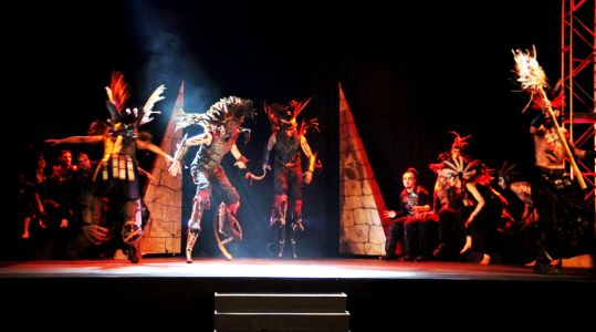 Stage Show Dubai Ahlan Ball