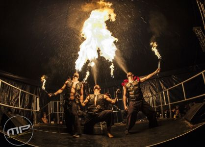 Steampunk Fire Breathers Zoo Project