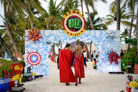 superhero themed event