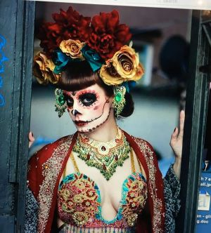 talulah blue candy skull burlesque