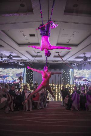 the greatest showman acrobatics