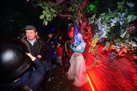 Tv Star Jonathan Ross Halloween