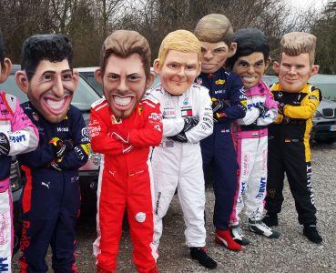Vettel Cartoon