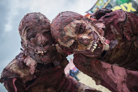 Zombies At Download Festival