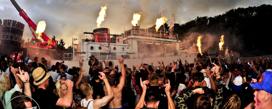 RAVE ON THE WAVES AT BESTIVAL