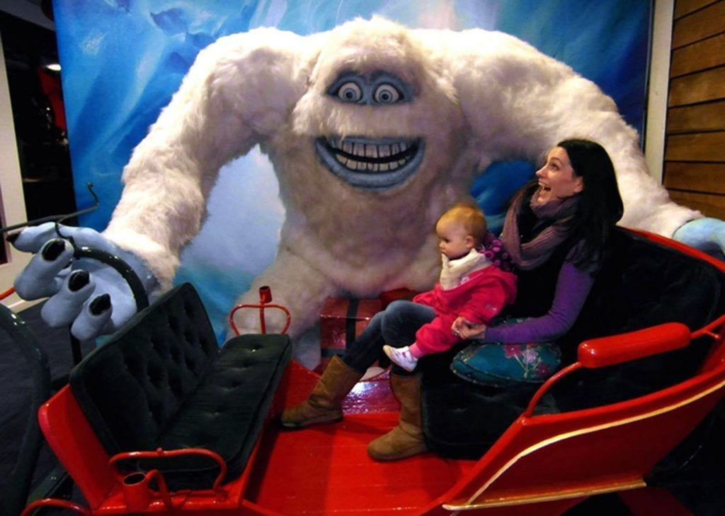 Snow dome yeti tamworth