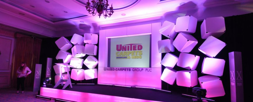 UNITED CARPETS – CONFERENCES WITH CLASS