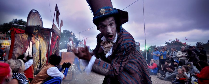 CARAVAN OF LOST SOULS AT GLASTONBURY 2013