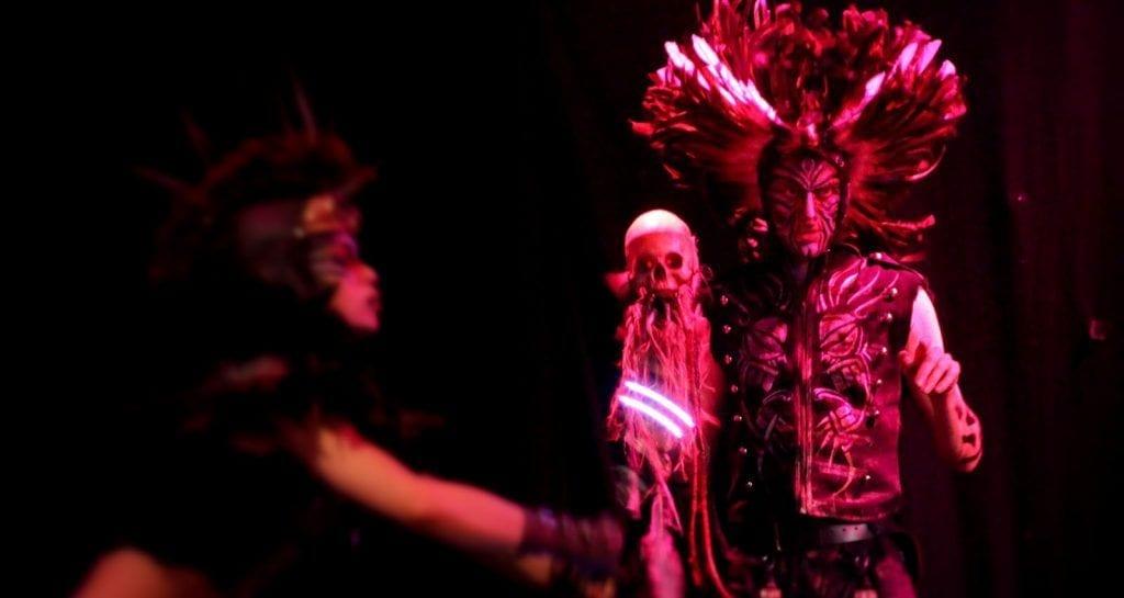 tribal tiki costume